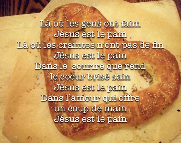 Jesus est le pain - GK